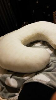 Boppy pillow with slipcover