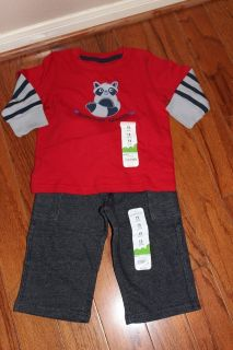 CLEARANCE***BRAND NEW***Mischief Maker Shirt And Pants***12 MTHS.NWT