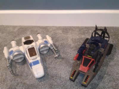Star Wars Jet & GI Joe Boat