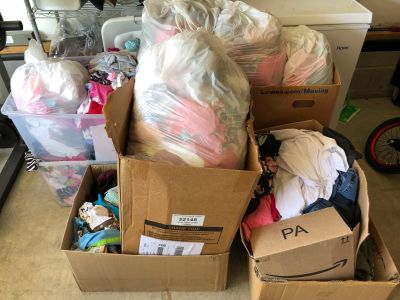 Large Lot of Baby Clothes