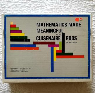 Brand new cuisenaire wooden rods