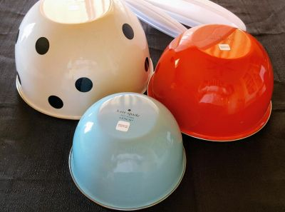 Kate Spade Mixing Bowl Set (NEW/INCOMPLETE)