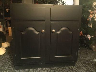 Vanity cabinet base