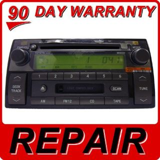 Find REPAIR SERVICE ONLY Toyota Camry Radio Single CD Player OEM JBL MP3 Factory Fix motorcycle in Burnsville, Minnesota, US, for US $159.00