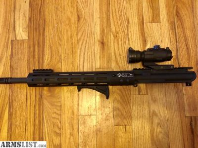 For Sale/Trade: 16 upper mlok Aimpoint