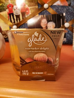 New Glade candle