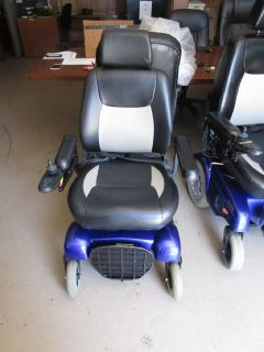 Merits Regal Power Wheelchair (Blue and Red) RTR# 8043562-01,03,05-07