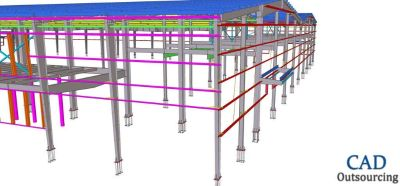 Structural Detailing Services - CAD Outsourcing