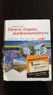 Introduction to General, Organic, and Biochemistry by Bettelheim, 10th Edition
