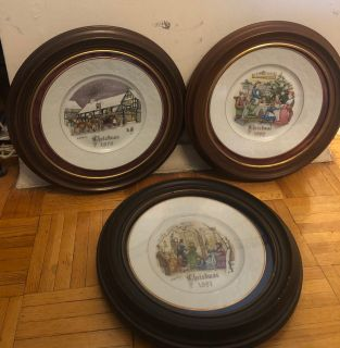 Antique Christmas Plate s