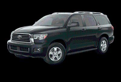 2019 Toyota Sequoia SR5 (Midnight Black Metallic)