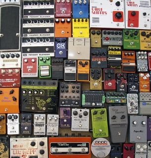 Looking for used guitar effects pedals