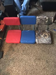 Bleacher seats asking $25 for all 3 or $10 each.