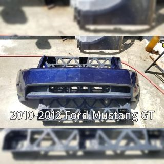 2010-2012 Ford Mustang GT Front Bumper Cover with Minor Damage