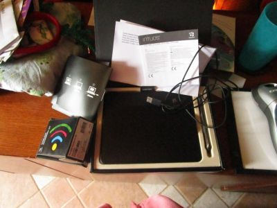 Wacom Pen/Tablet with Wireless kit