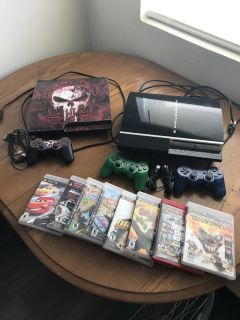 For Sale 2 PlayStation 3 Games Systems