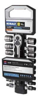 Kobalt 19-pc SAE & Metric Matte 3/8 Drive Set