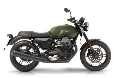 2018 Moto Guzzi V7 III Stone Standard/Naked Motorcycles Saint Charles, IL