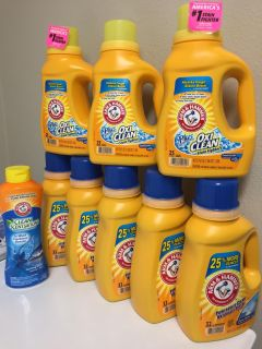 Arm & Hammer Laundry Bundle. Price is Firm.