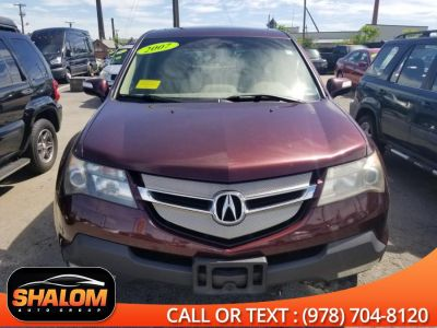 2007 Acura MDX Base (Dark Cherry Pearl)