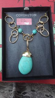 Covington necklace with earrings