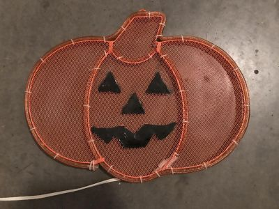 Lighted Jack o Lantern Window Decor, excellent condition