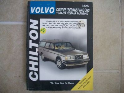 Sell 72300 Chilton Repair Manual Volvo Coupes,Sedans,Wagons 1970-89 motorcycle in Golden Valley, Arizona, United States, for US $9.43