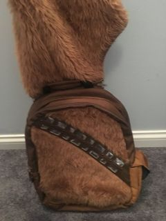 Chewbacca backpack with hood