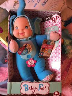 NEW-Baby's First Sing and Learn doll