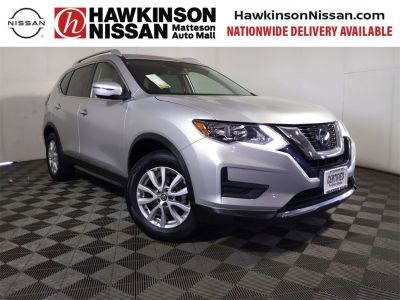 2019 Nissan Rogue (Brilliant Silver Metallic)