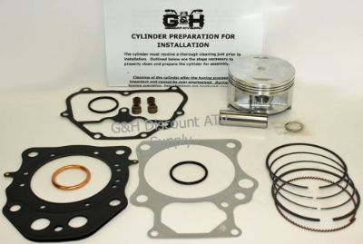 Sell 2009-2015 Honda TRX420 Rancher Machine Service Top End Rebuild Kit TRX 420 Motor motorcycle in Somerville, Tennessee, United States, for US $204.95