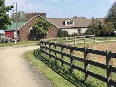 5635 Studebaker Road Tipp City Four BR, Great home with 8 acres