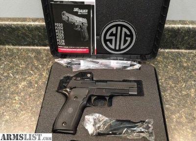 For Sale: Sig P226 w/ Romeo Sight & SigLite 9MM P226RX NIB