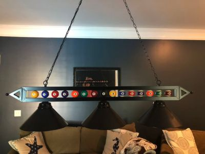 59 Pool Table Light
