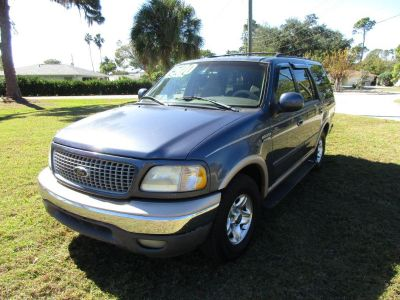 1999 Ford Expedition XLT (Blue)