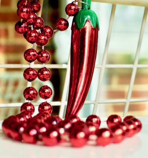Red Hot CHILI-PEPPER Necklace