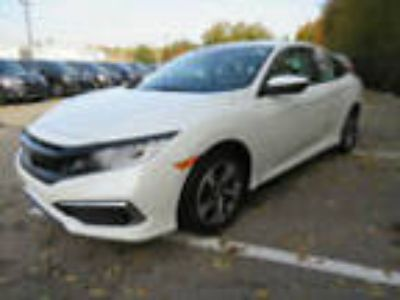 2019 Honda Civic Sedan LX CVT LX CVT New 4 dr Sedan CVT Gasoline 2.0L 4 Cyl