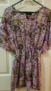 Apt 9 medium ladies bathing suit cover up