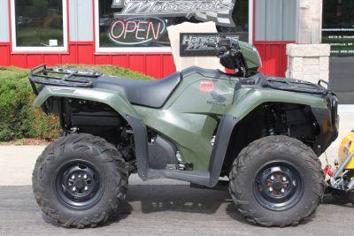 2017 Honda FourTrax Foreman Rubicon 4x4 DCT ATV Utility Janesville, WI
