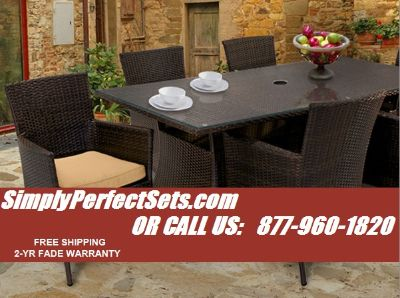 Beautiful Wicker Patio Furniture Sets at Liquidation Pricing