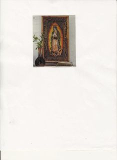 $175, Our Lady Of Guadalupe Art