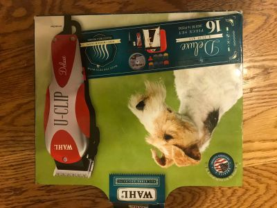 New WAHL 16 pc set pet clippers