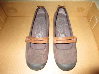 Merrill Plaza Bandeau Chocolate Suede Leather Dress Shoes - 10 W