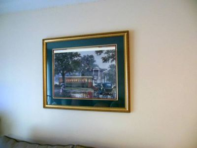 Large New Orleans Picture with nice frame