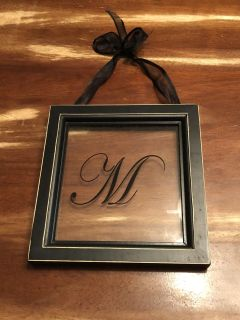 M Initial Glass Frame