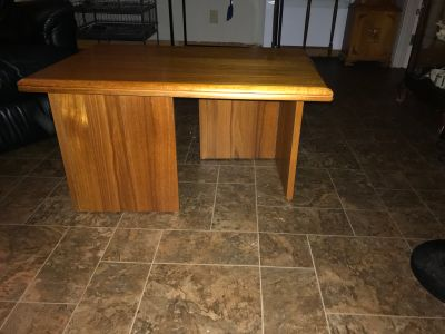 Teak end tables