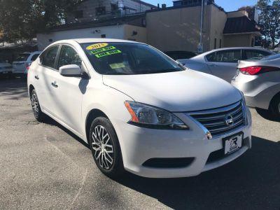 2015 Nissan Sentra 4dr Sdn I4 CVT SL (White)