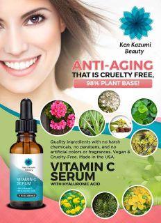 Anti-Aging Vitamin C Serum with Hyaluronic Acid