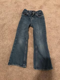 Levi girls size 6 pants