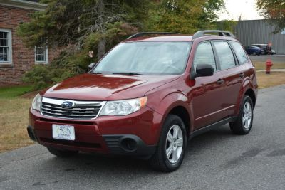 2010 Subaru Forester 2.5X (Red)